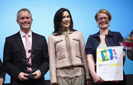 Kronprinsessan Mary strålade på Integration Awards