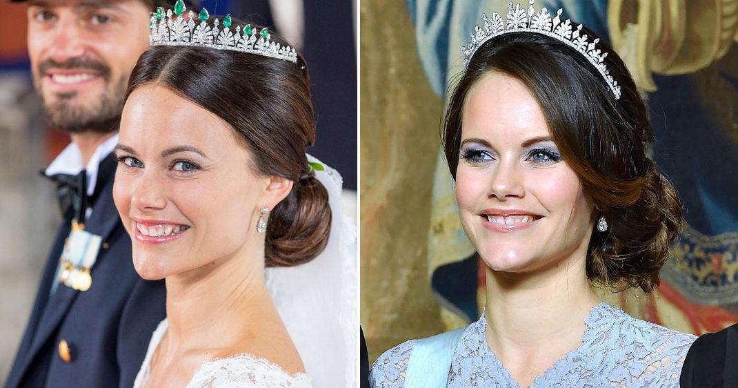 Sofias tiara blev galamiddagens stora snackis