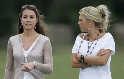 Kate Middleton fryser ut Chelsy Davy