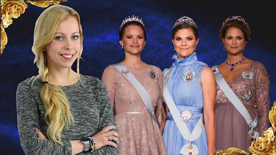 Modeexperten om prinsessornas Nobelklänningar!