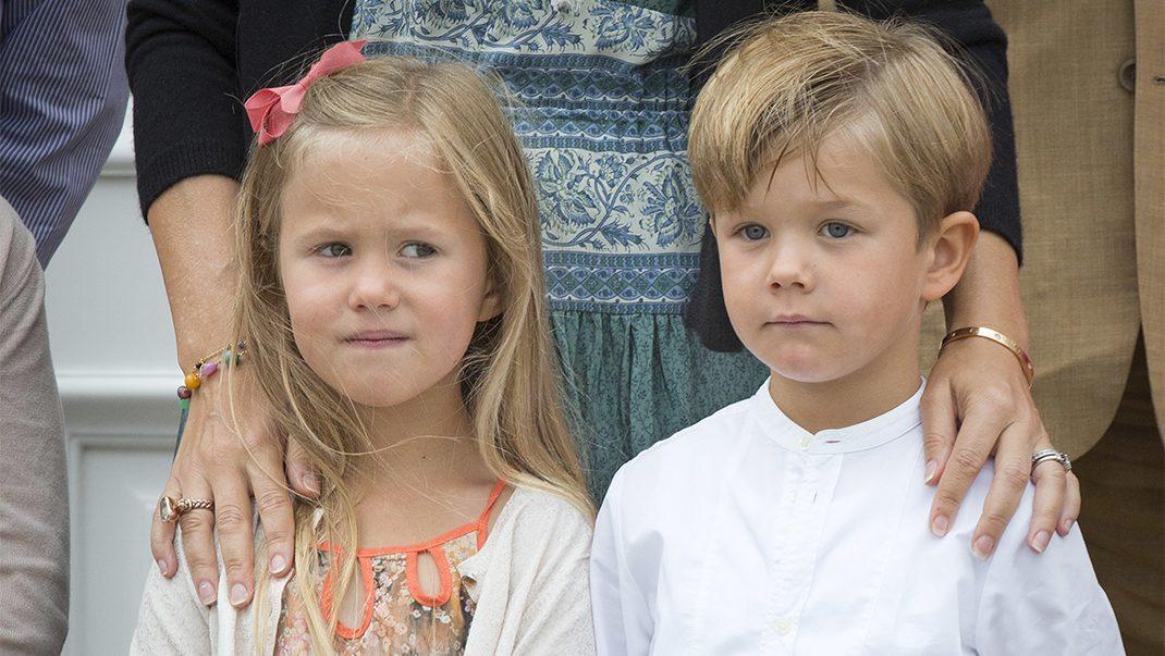 Grattis! Tvillingarna Josephine och Vincent fyller 7 år