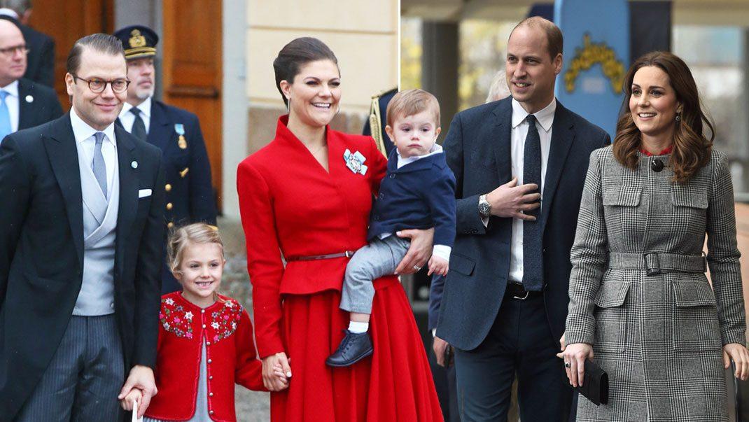 Victoria och Daniel förbereder inför brittiska besöket