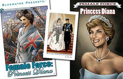 Prinsessan Diana som seriefigur