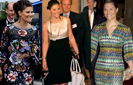 Kronprinsessan Victorias läckra klänningar – rösta fram din favorit ... 55744c8de8903