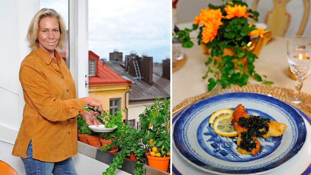 Caroline Bielke bjuder in familjen på middag