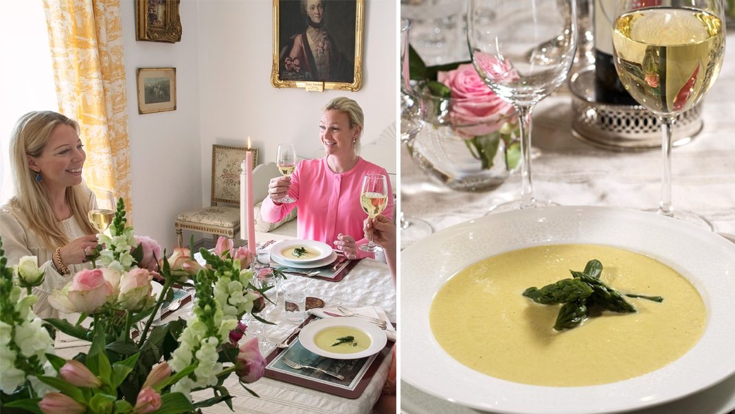 Charlotte Lewenhaupt bjuder på hemlagat på anrika Lönhults gård