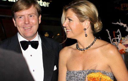 Willem-Alexanders och Máximas kärlekslycka…
