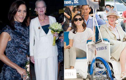 Bildspel! Full fart i Vietnam för kronprinsessan Mary och drottning Margrethe
