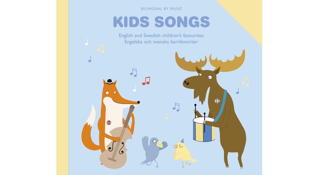 Nu kan du vinna en tvåspråkig sångbok för barn!