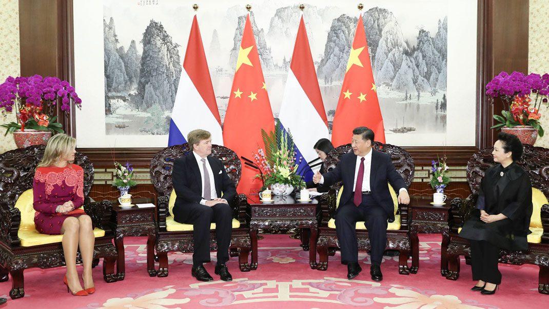 Bildextra! Máxima och Willem-Alexander i Kina