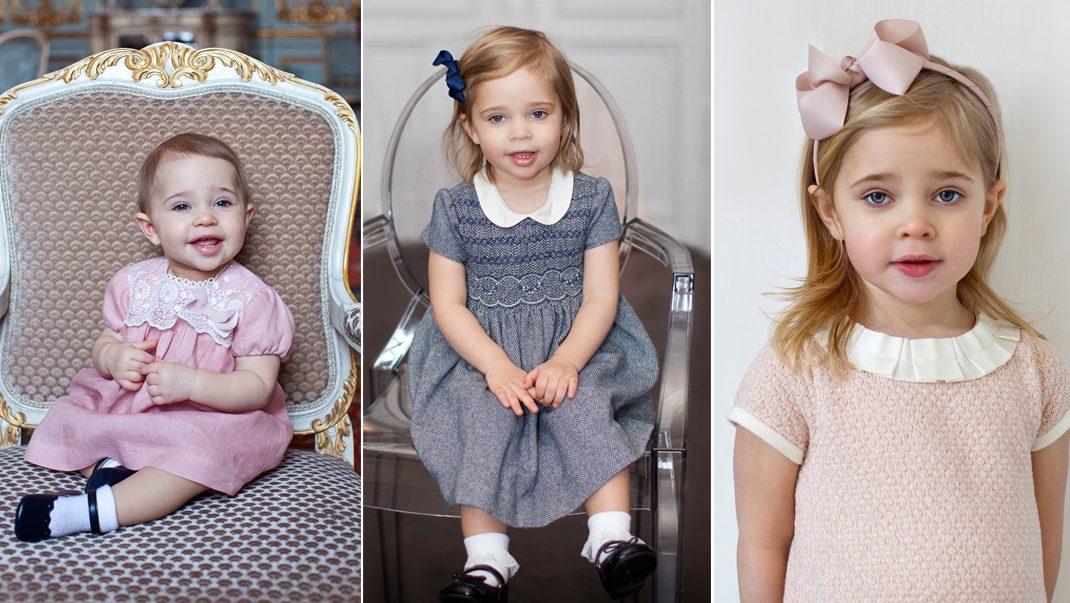 Minns du de tidigare födelsedagsbilderna på Leonore?