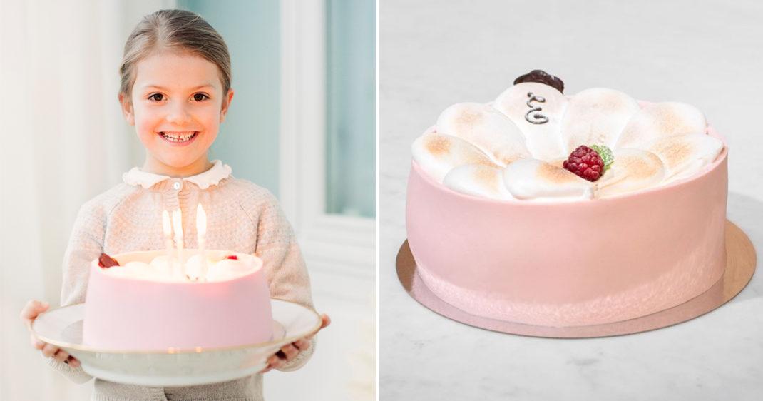 estelle fyller år Här är allt du behöva veta om Estelles vackra födelsedagstårta  estelle fyller år