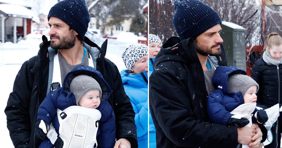 4877b4250294 Moderna pappan Carl Philip med barnen | Svensk Damtidning
