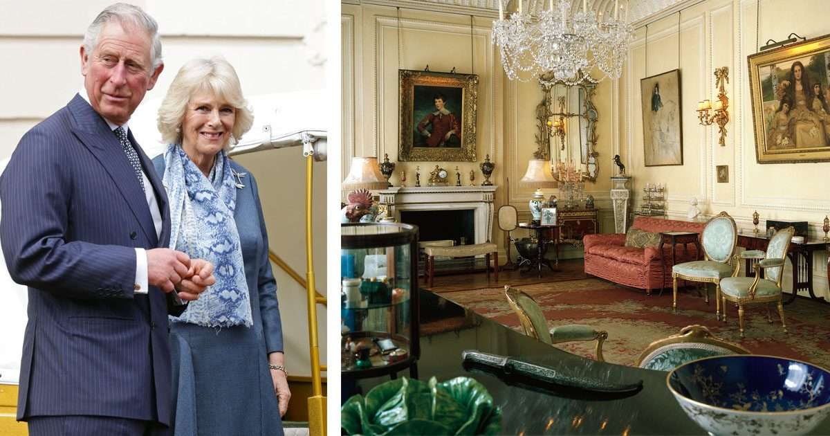 Hemma hos Charles och Camilla – kika in i de privata delarna!