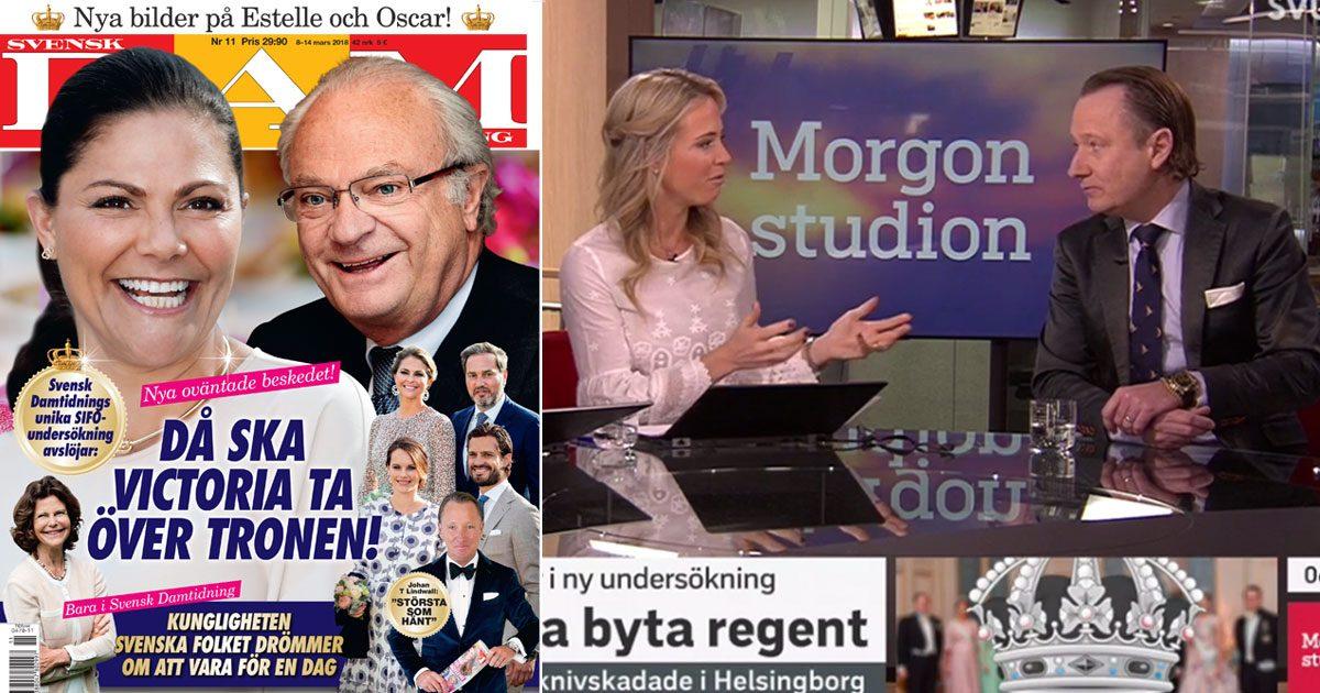Svensk Damtidnings chefredaktör Johan T Lindwall: