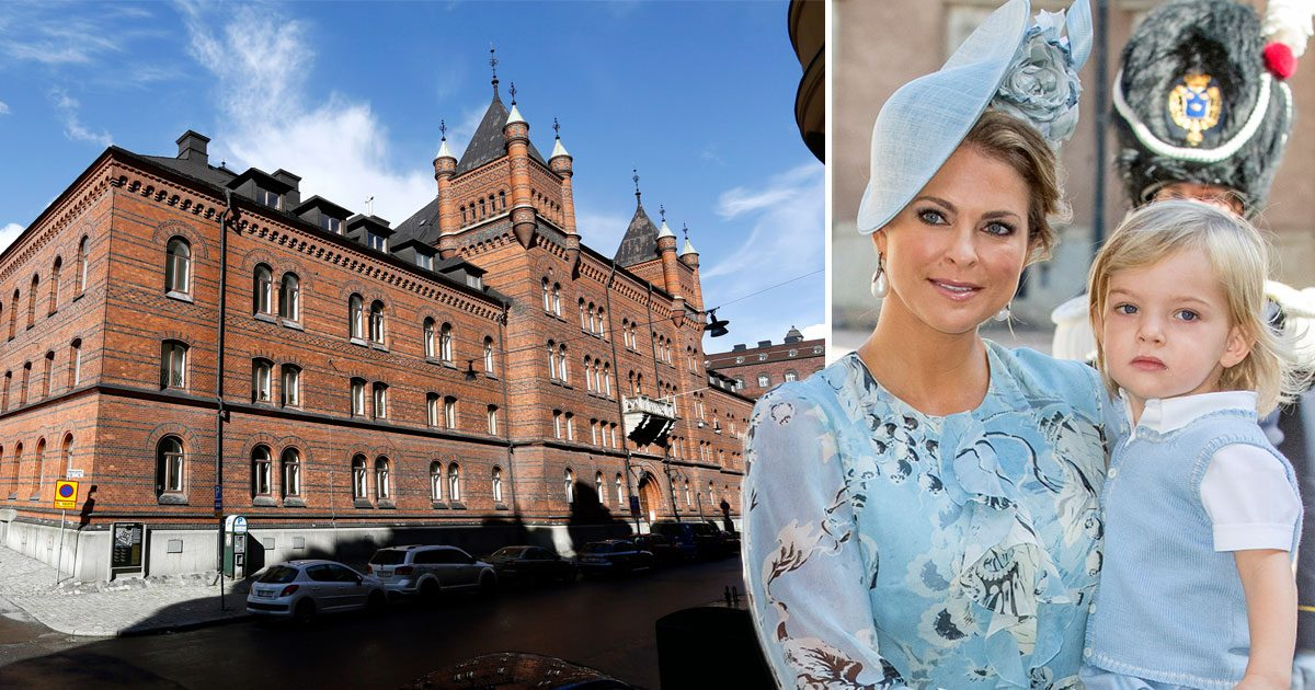Här kommer Madeleines bebis bo i Sverige