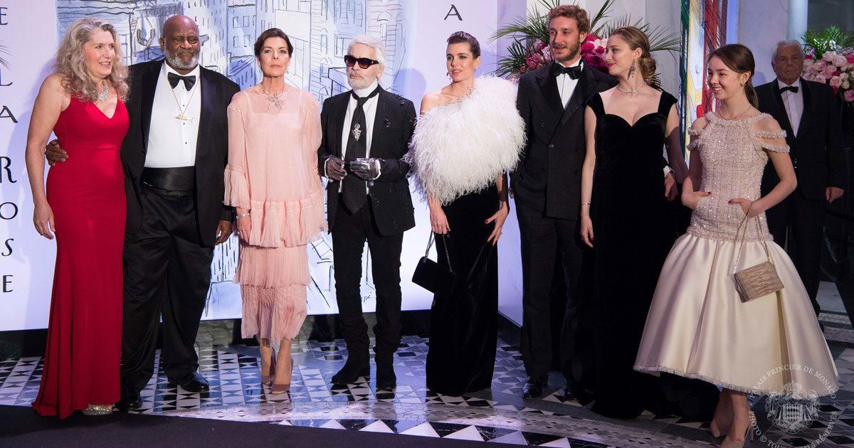 Glitter och glamour på Rosornas bal i Monaco