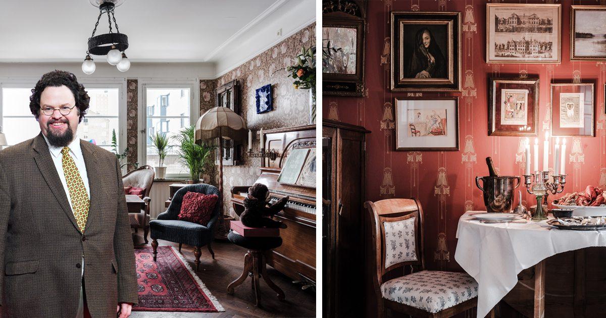 Edward Blom säljer sin fantastiska våning – se alla bilder
