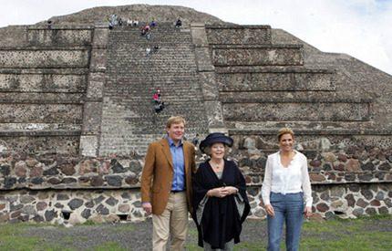 Prins Willem Alexanders fula ord-chock i Mexiko
