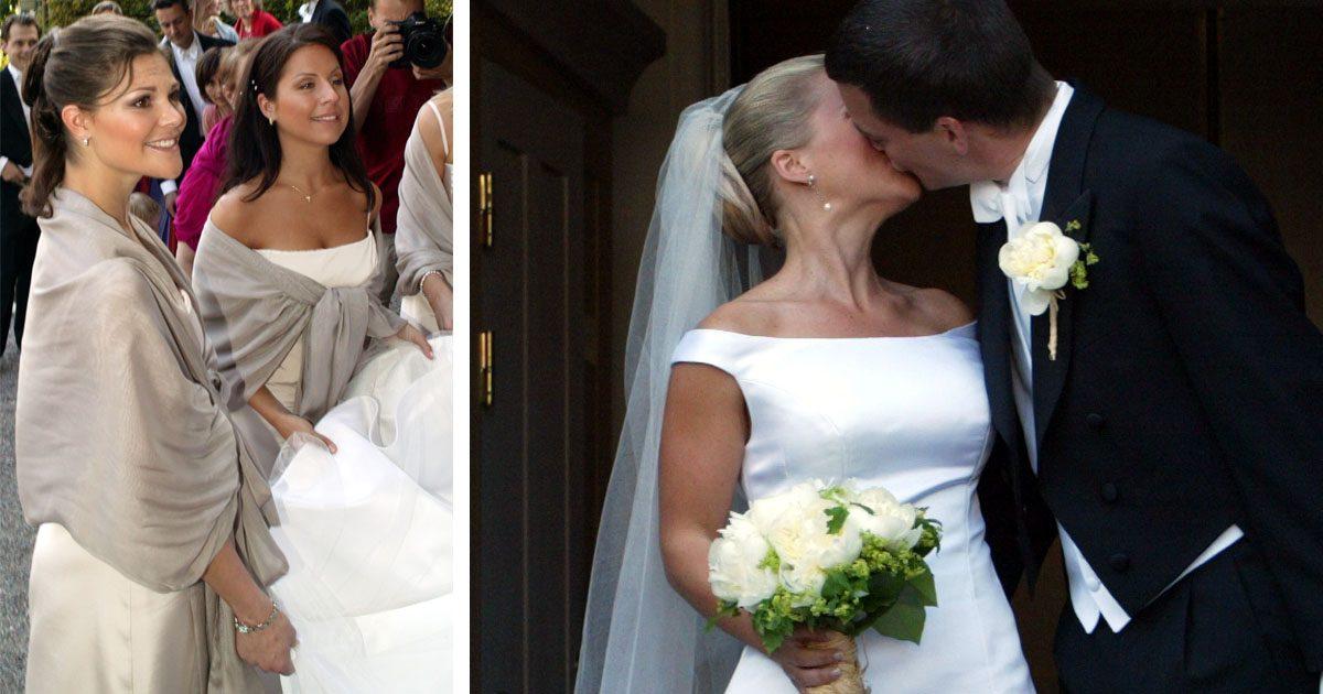 Victoria tärna på bästisens bröllop