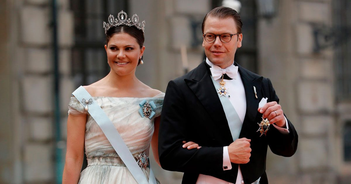 Victoria och Daniel på besök i Tyskland