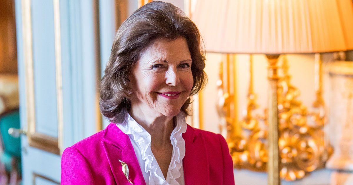 Här storhandlar drottning Silvia Majblommor till alla 7 barnbarnen