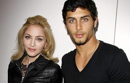 Madonnas första möte med <br> 15 år yngre svärmor