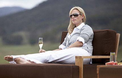 Zara Phillips lyxresa i Australien...