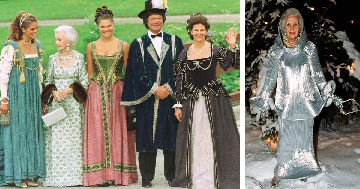 Oförglömliga bilder – se kungligheternas oväntade utklädnader