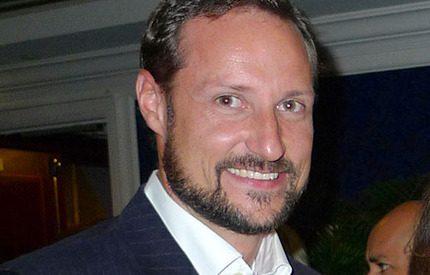 Kronprins Haakon rapporterar direkt från Davos