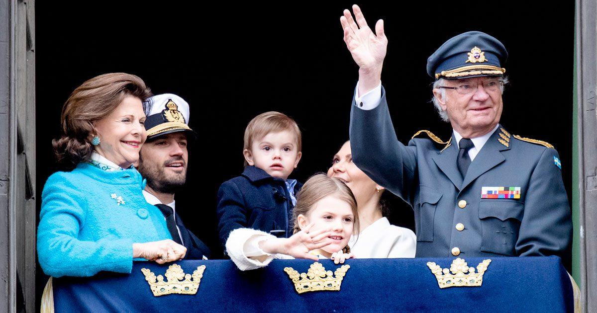 7 bästa bilderna från kungens födelsedagsfirande