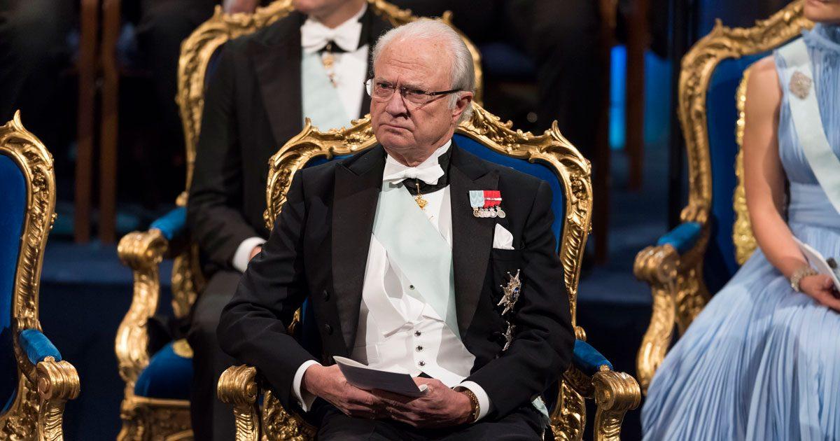 Kung Carl Gustaf nobel 2017.