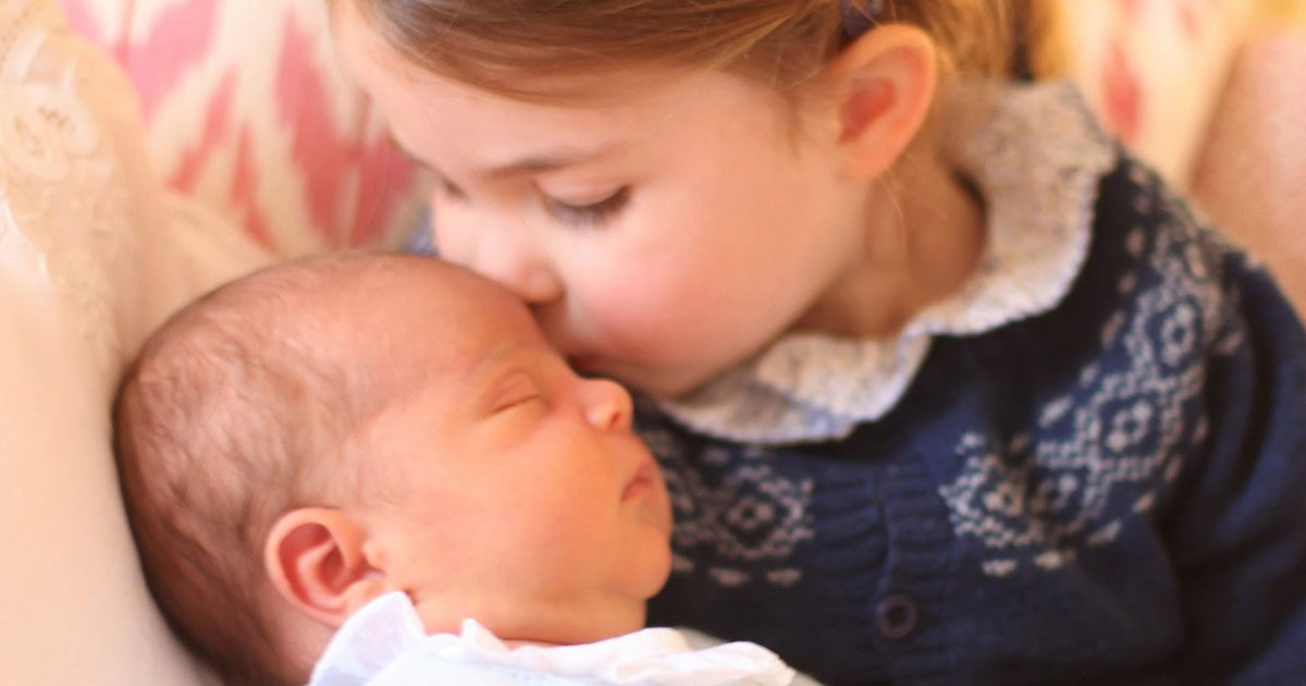 Se de 2 nya bilderna på prins Louis – tagna av Kate