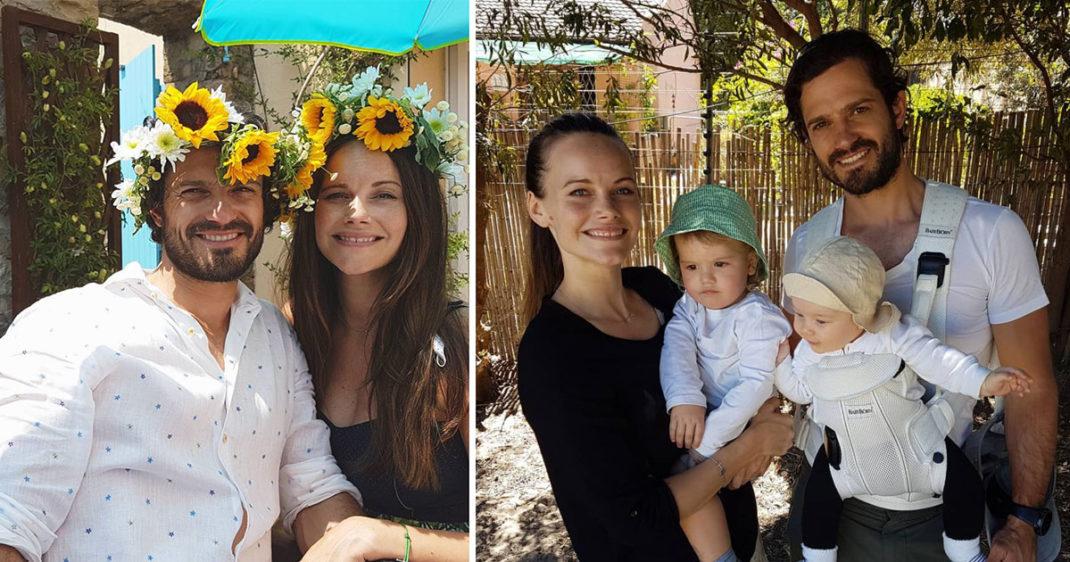 Carl Philip och Sofia visar upp 82 nya bilder på Instagram – se dem här!