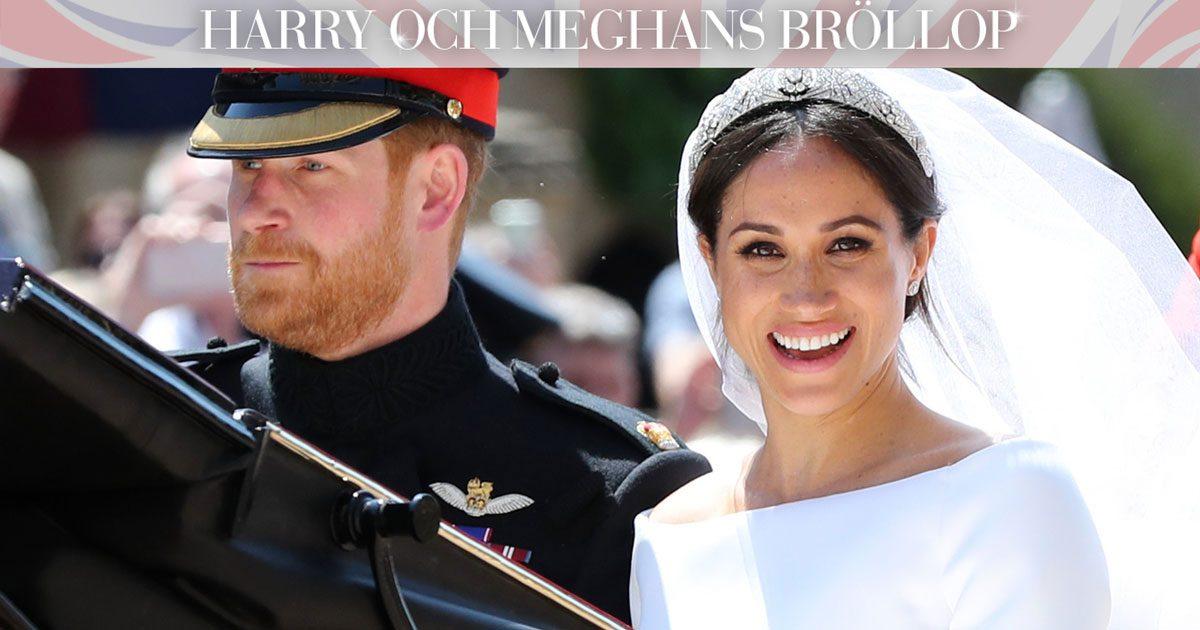 Meghans magnifika brudklänning – 5 finaste bilderna!