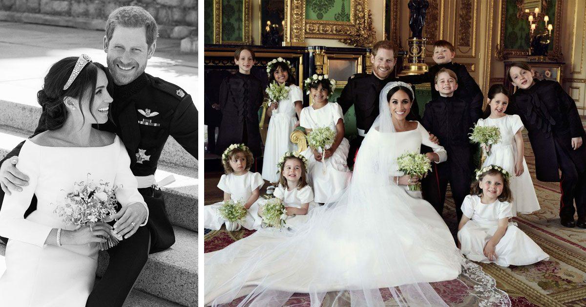 Meghan och Harry har släppt sina officiella bröllopsbilder – och de är otroliga!