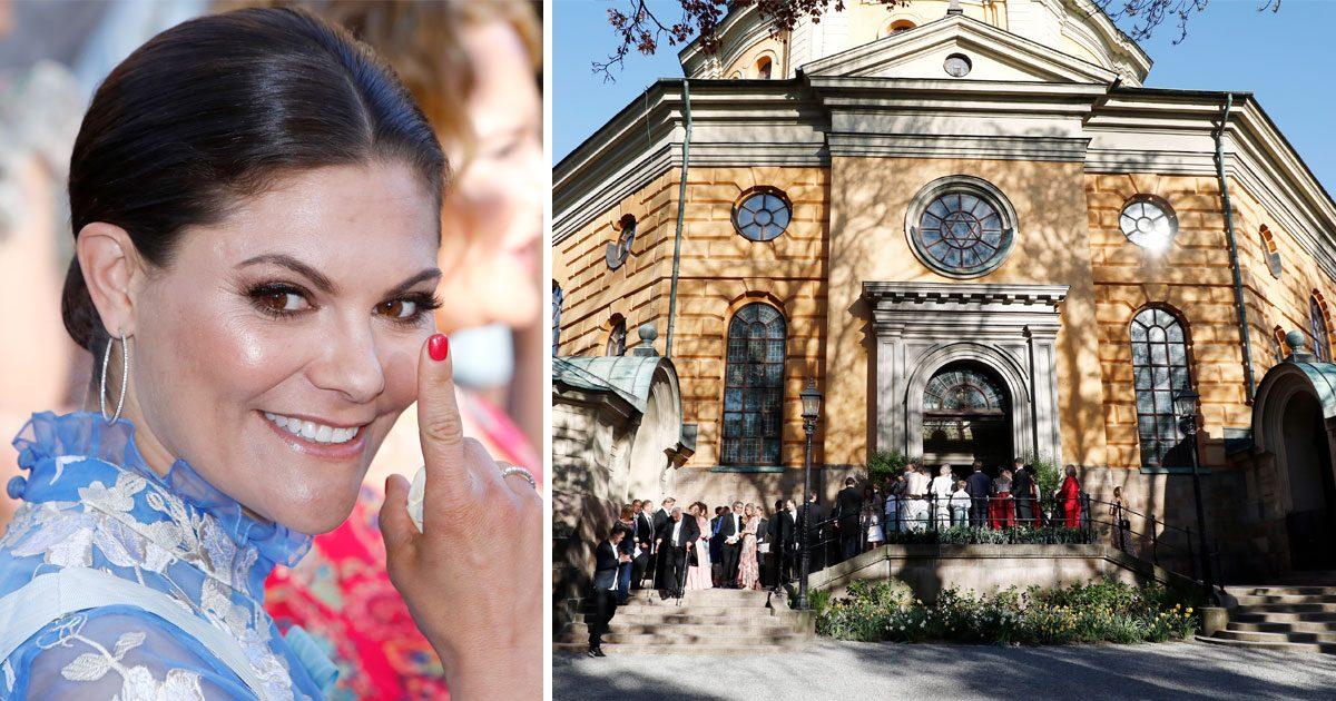 Stort bildextra! Se alla bilder från societetsbröllopet!