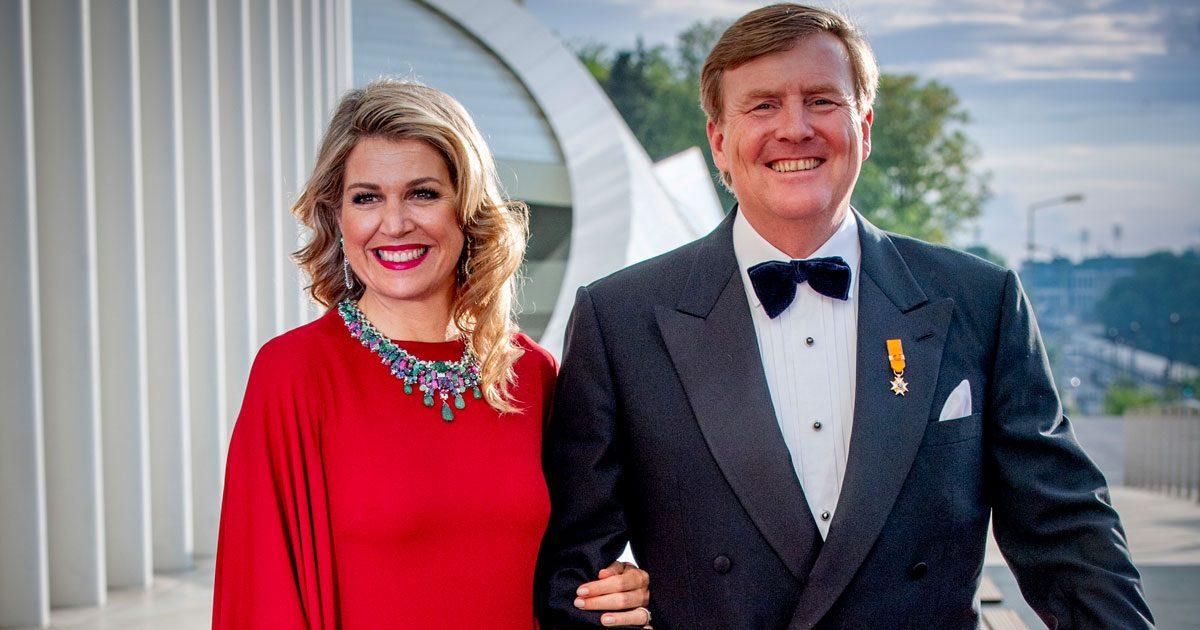 Bildextra! Willem-Alexander och Máxima besökte Luxemburg