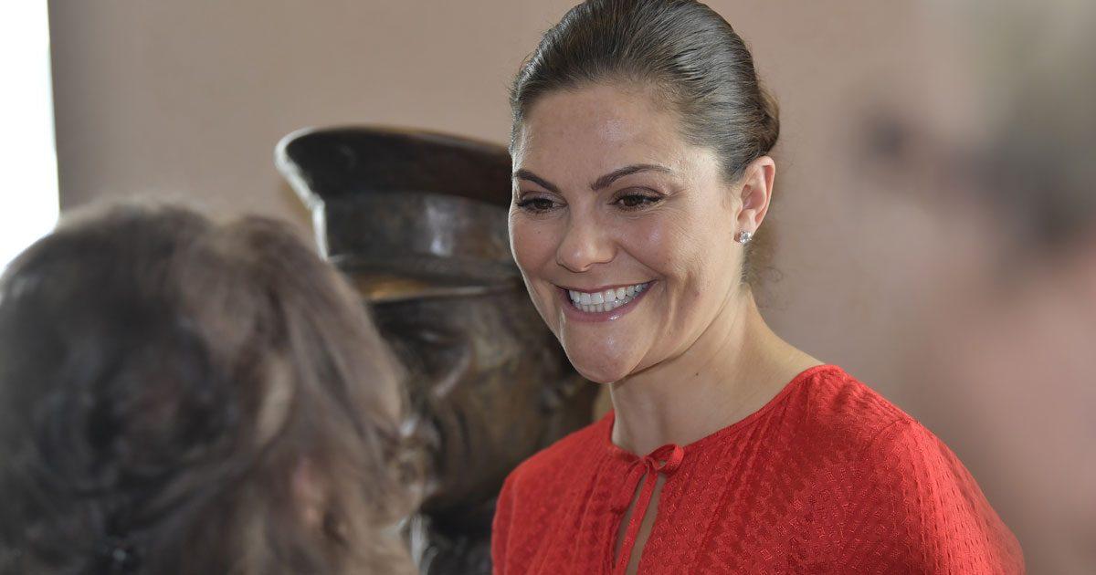 Victoria hyllade kära släktingen tillsammans med Silvia
