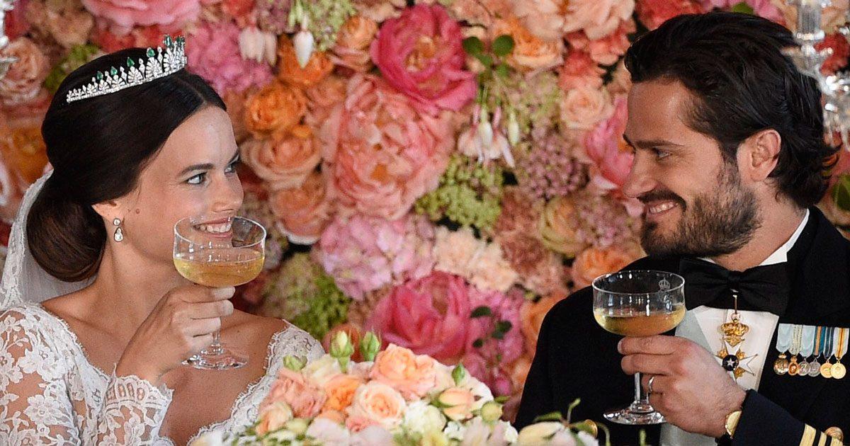 Tre år sedan idag – bästa bilderna från Carl Philips och Sofias bröllop
