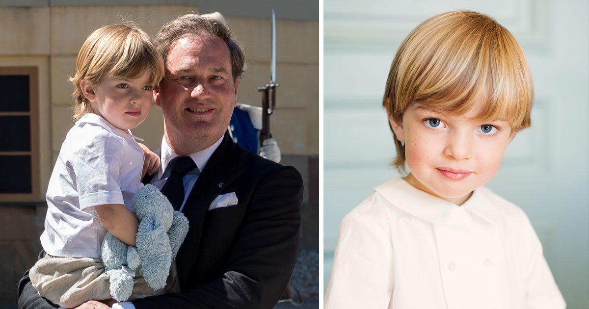 Grattis Nicolas 3 år – se Madeleines fina grattishälsning till sonen!