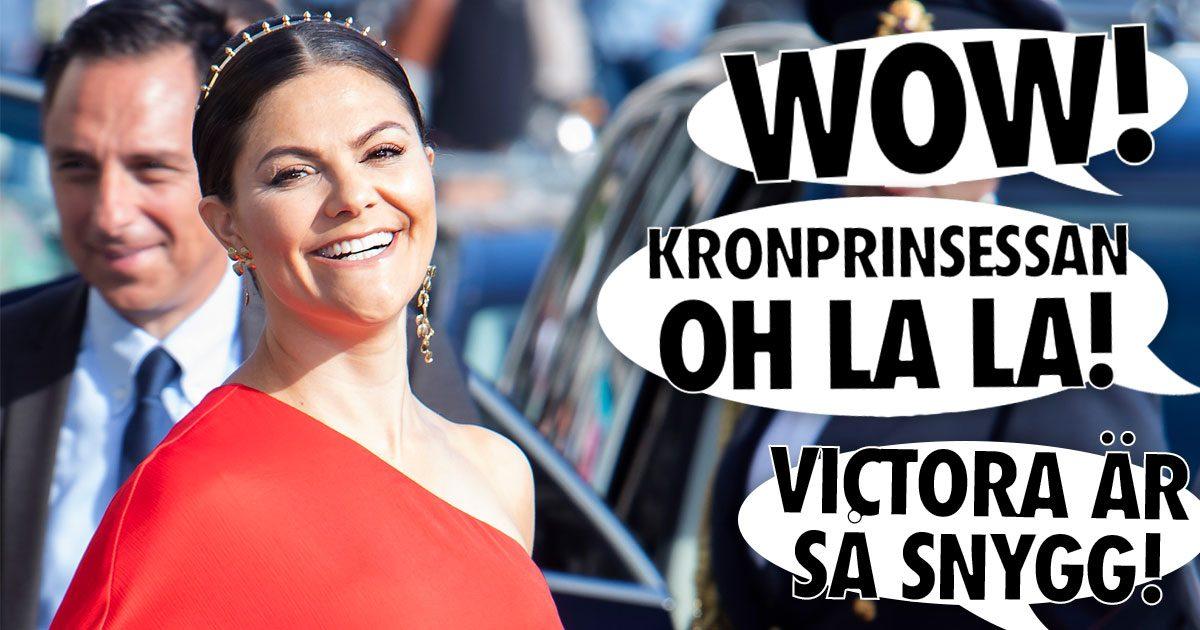 """Läsarnas hyllningar till Victoria: """"Som en grekisk gudinna!"""""""