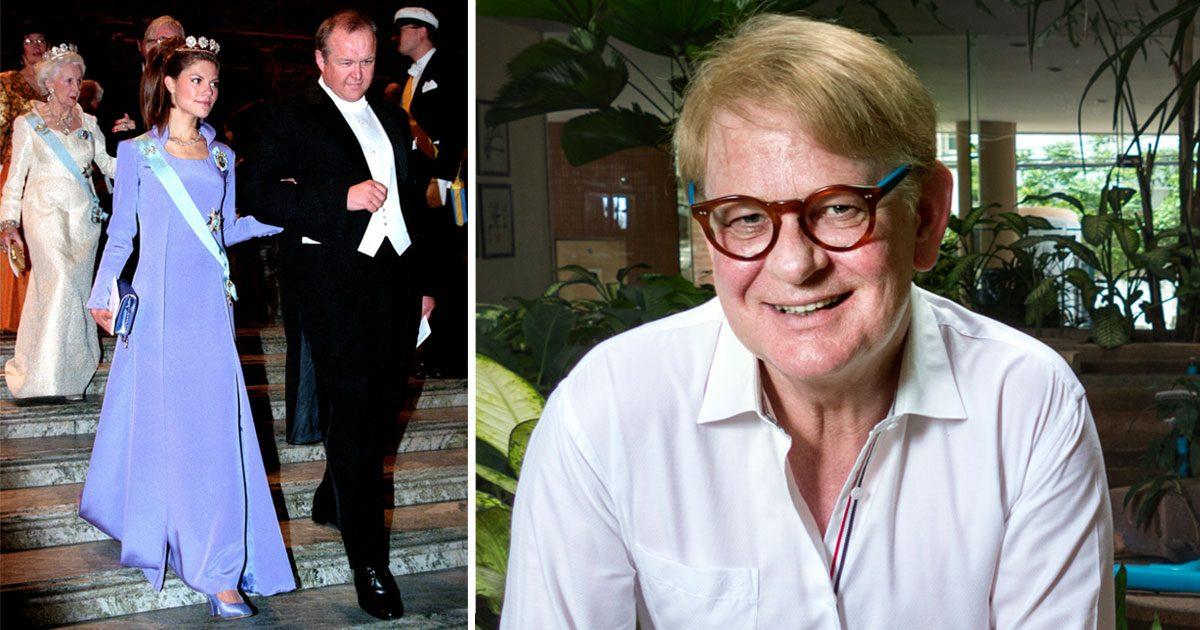 Göran Alfredsson designar klänningar för både kungligheter och kändisar