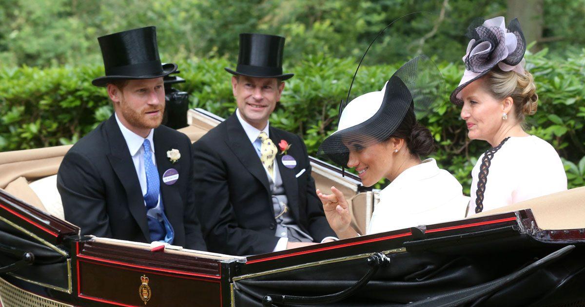 Meghans debut på Royal Ascot – se bilderna!