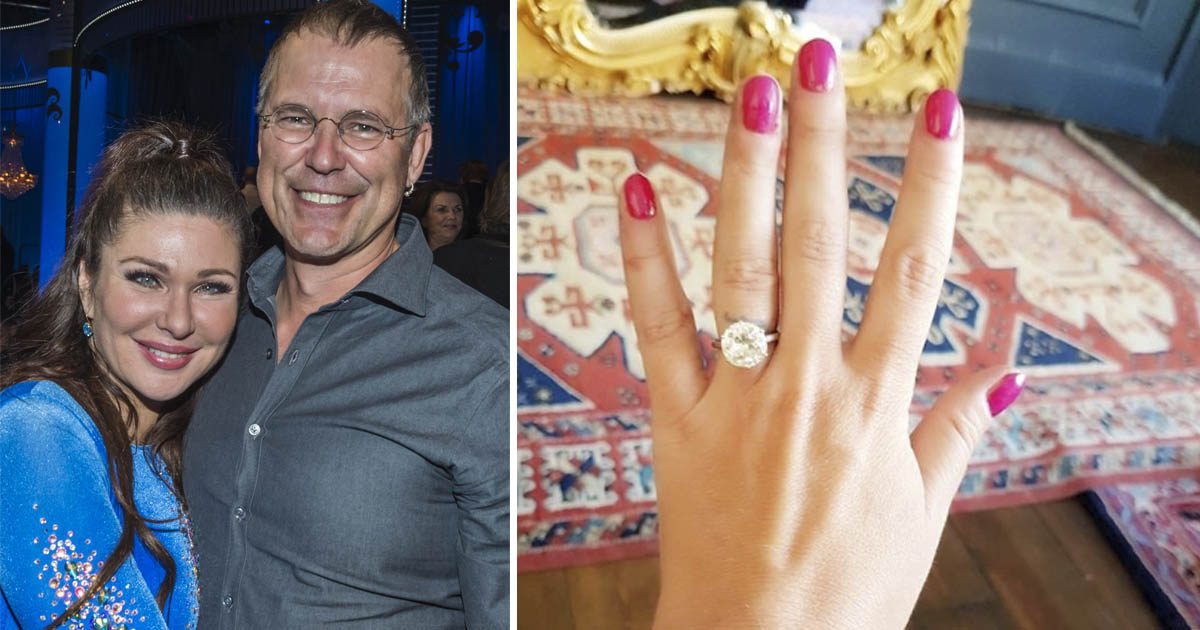 Snart bröllop! Dominika Peczynski visar upp Hollywood-ringen