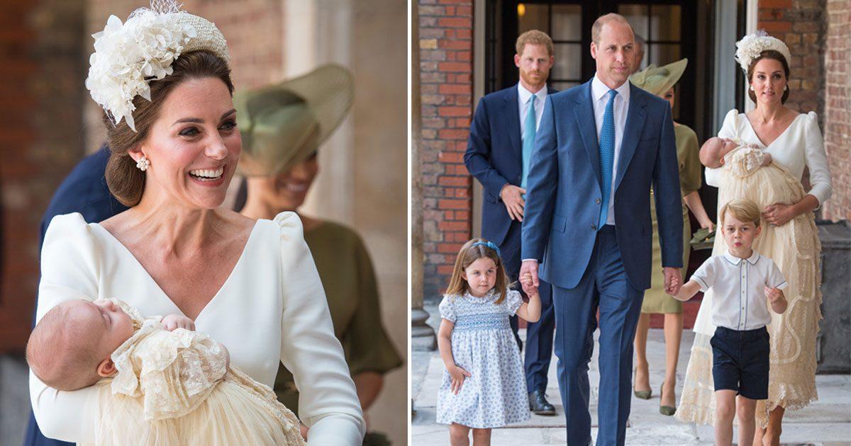 Prins Louis är döpt – se bilderna här!
