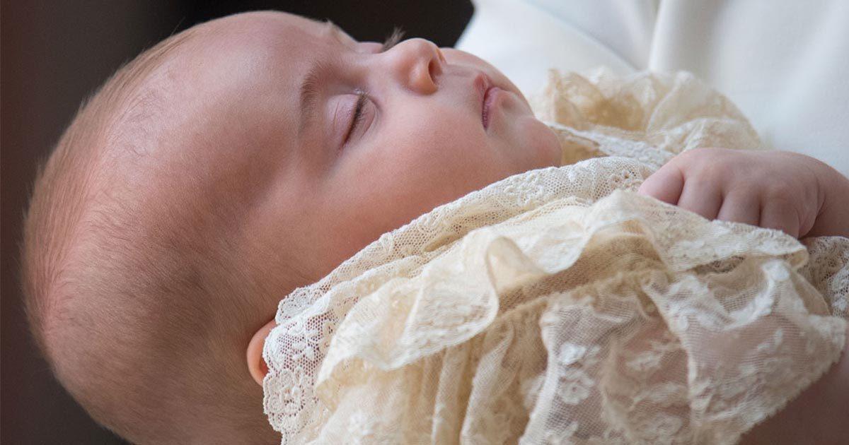 Här är alla bilder som togs under prins Louis dop