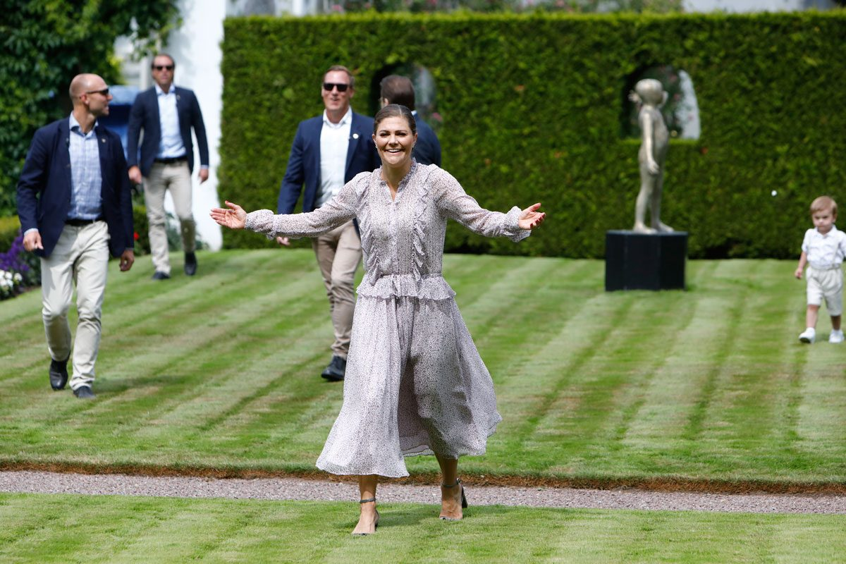 Klart! Victoria firar sin födelsedag med svenska folket