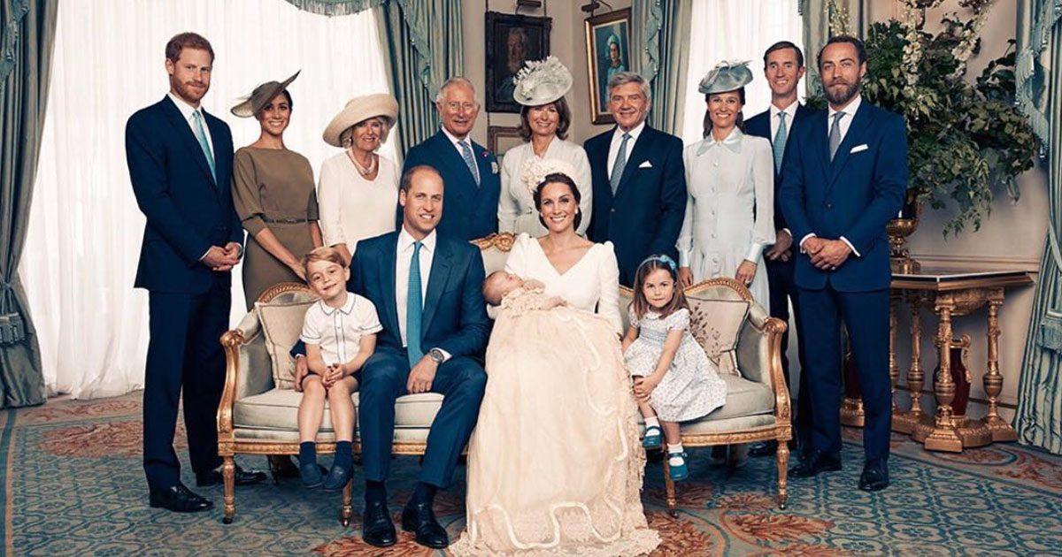 Bildextra! Se de officiella bilderna från prins Louis dop