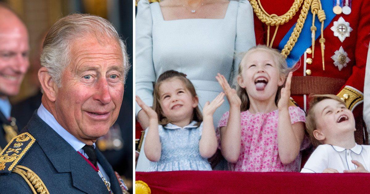 Prins Charles om barnbarnen: